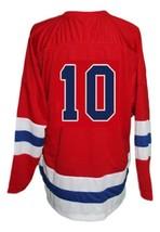 Custom Name # Seattle Ironmen Retro Hockey Jersey 1950 New Red Any Size image 5