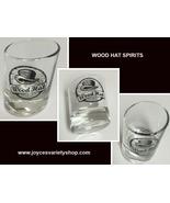 Wood Hat Spirits Whiskey Tilted Shot Glass 1.5 Oz - $11.99