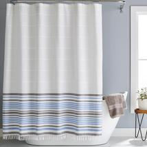 Better Homes and Gardens Turkish Stripe Polyester/Cotton Shower Curtain - $10.78