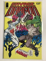 SAVAGE DRAGON #137 (NM) 2ND BARACK OBAMA, MADMAN SCARCE LOW PRINT RUN IMAGE - $28.45