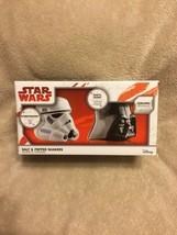 Star Wars Salt And Pepper Shaker Set!!!  NEW!!!  BID NOW!!! - $26.00