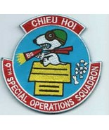 USAF 9th Special Operations Squadron CHIEU HOI Patch Sticker - $9.89