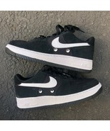 NIKE AIR FORCE 1 LOW HAVE A NICE DAY  KIDS BLACK ATHLETIC SNEAKER BQ8273... - $101.00