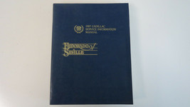 1987 Cadillac Eldorado Seville Factory Service Shop Repair Manual Used OEM - $14.39