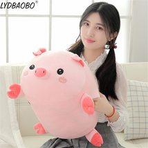 90cm Giant Cute Panda&Pig Animal Plush Baby Soft Stuffed Sofa Pillow Hand Warm D image 2