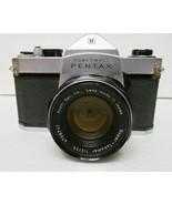 HONEYWELL Pentax SP500 35mm CAMERA W/SUPER-TAKUMAR 1:2 /55mm LENS Distre... - $37.77