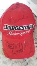 14 autographed hat AJ Allmendinger, da Matta,Alex,Kanaan ChampCar Indy N... - $55.00