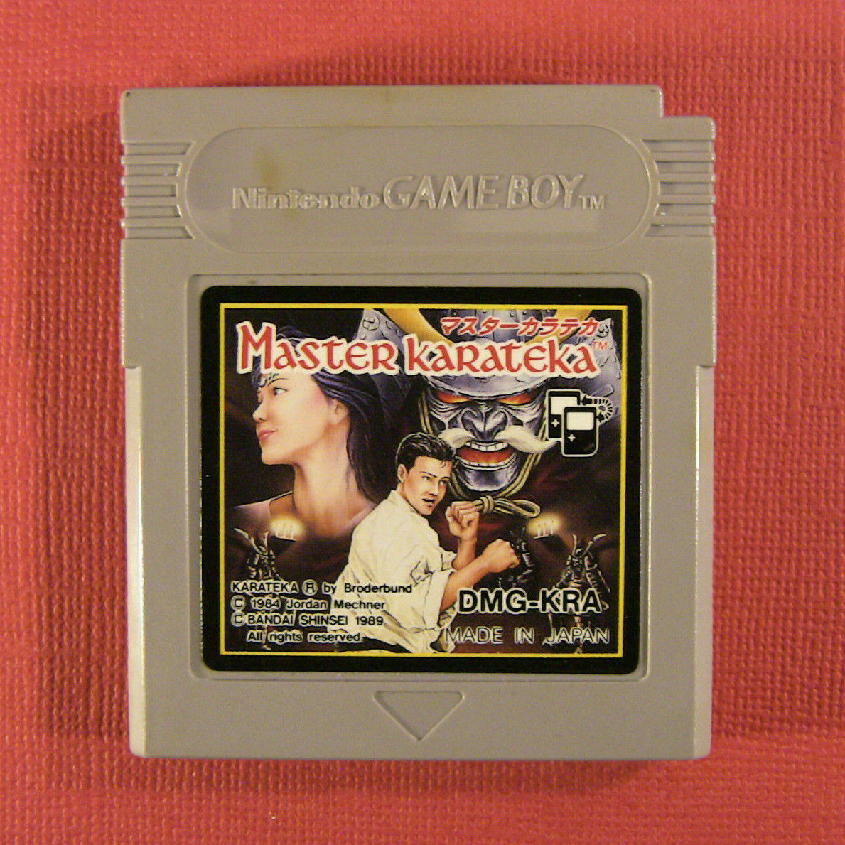 Master Karateka (Nintendo Game Boy GB, 1989) Japan Import