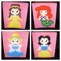 Plastic Canvas Princess Tissue Box Cover - $15.00