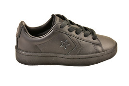 Converse Youth CTAS Pro PL 76 Sneakers Leather Black Size UK 12 - $42.97