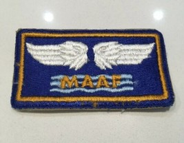 Original WWII U.S. Army Air Force Mediterranean Allied Air Forces Cut Edge Patch - $8.59
