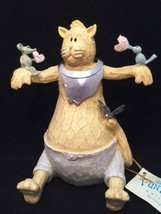 Camille the Cat Funky Farm Collection Figurine 7 inches Tall in Original... - $26.72