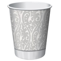 Devotion Cross Hot or Cold Beverage Cups, Silver, 8 Count               - $4.44