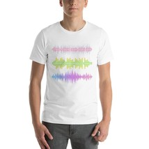 Bar Music Sound Waves T-Shirt - $32.00