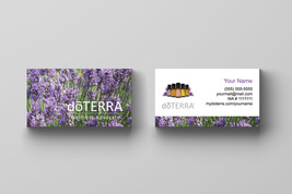 100 doTerra Business Card -  Lavender field - $34.90