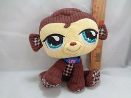Littlest Pet Shop Brown Monkey Plush Stuffed Animal VIP LPS Toy Doll - $13.85