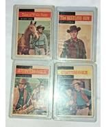 4 Western TV Show Trading Cards Gunsmoke Tales of Well Fargo Restless Gun - $14.99