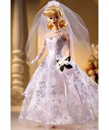 Collector WEDDING DAY BARBIE DOLL - BLONDE - MIB NRFB 1997 REPRODCUTION ... - $44.50