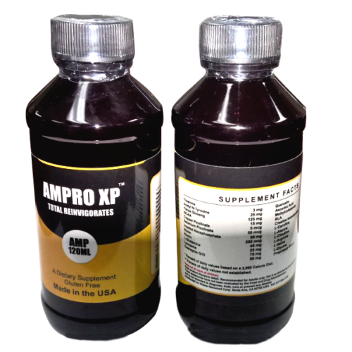 Primary image for Ampro XP, Anti aging and super Immune system & energy booster.(187/120 ml)