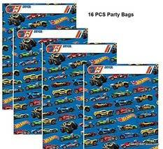 HOTWHEELS Party Bags CARS Favor Loots Birthday Decoration Supplies 16 PI... - $11.86