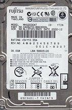 MHS2030AT, Fujitsu 30GB IDE 2.5 Hard Drive