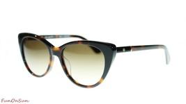 Kate Spade Sunglasses Sherylyn 0581 Havana Black Brown Gradient Lens 54mm - $116.40