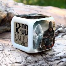 Assassin Creed Led Alarm Clock #01 Figures LED Alarm Clock - $24.00