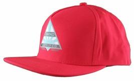 Diamond Supply Co. Eternal Diamond Red Snapback Baseball Hat NWT image 2