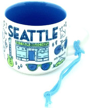 Seattle Starbucks Been There Series Ornament 2oz Cup - $48.70