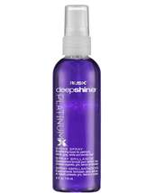 Rusk Deepshine PlatinumX Shine Spray, 4oz