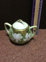 RS GERMANY STUNNING HANDPAINTED SUGAR BOWL - $28.06