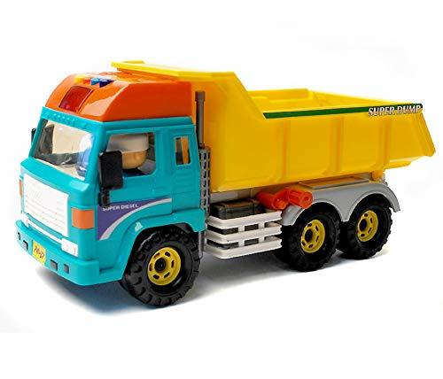 Daesung Toys Melody Dump Truck Car Vehicle Construction Heavy Equipment Toy