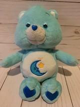 "10"" Care Bears Plush Stuffed Blue Bedtime Bear Toy Animal - $8.90"