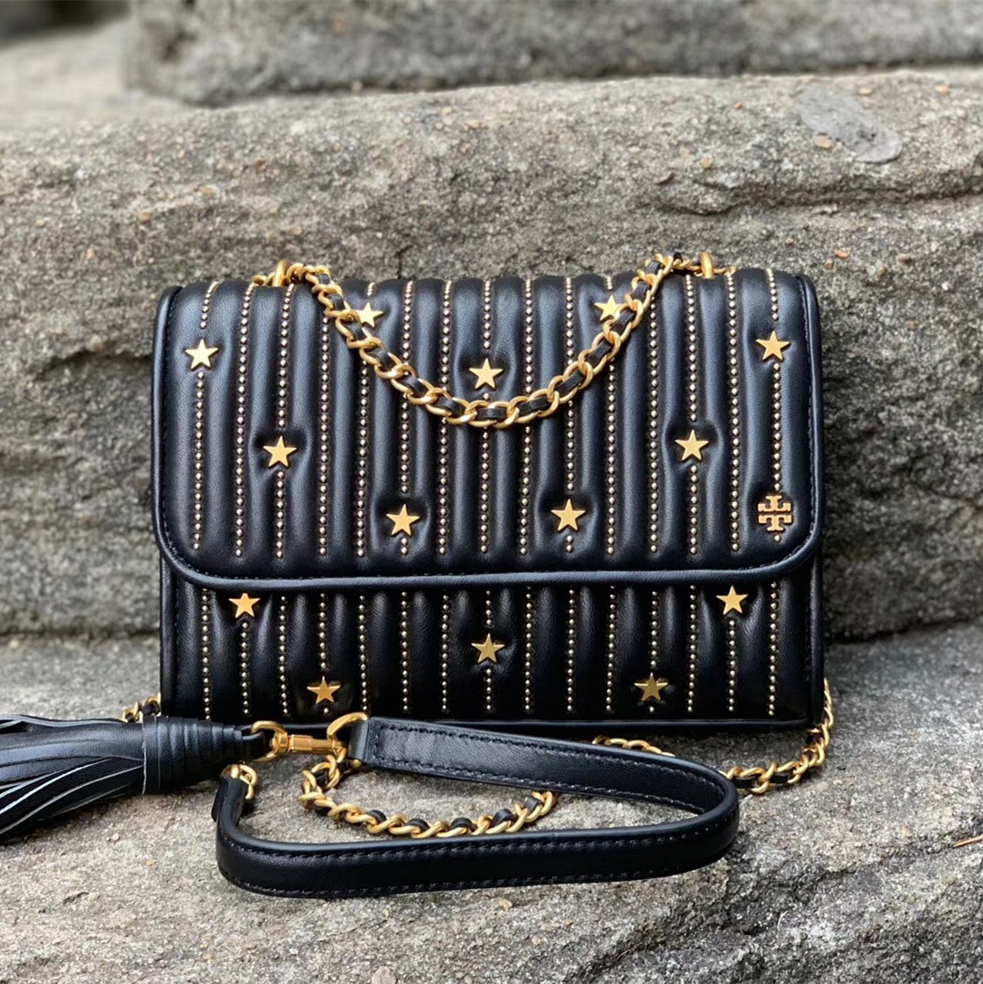 76a793ce9dc7 Img 8156. Img 8156. Previous. Tory Burch Fleming Star-Stud Small  Convertible Shoulder Bag · Tory Burch ...