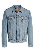 Levi's Men's Cotton Button Up Denim Jeans Trucker Jacket Light Blue 723340232