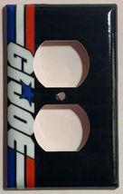 Gi Joe Logo Light Switch Duplex Outlet wall Cover Plate Home Decor image 3
