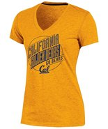 NCAA California Golden Bears Women's Poly+ V-Neck T-Shirt, Gold, Large (... - $19.95