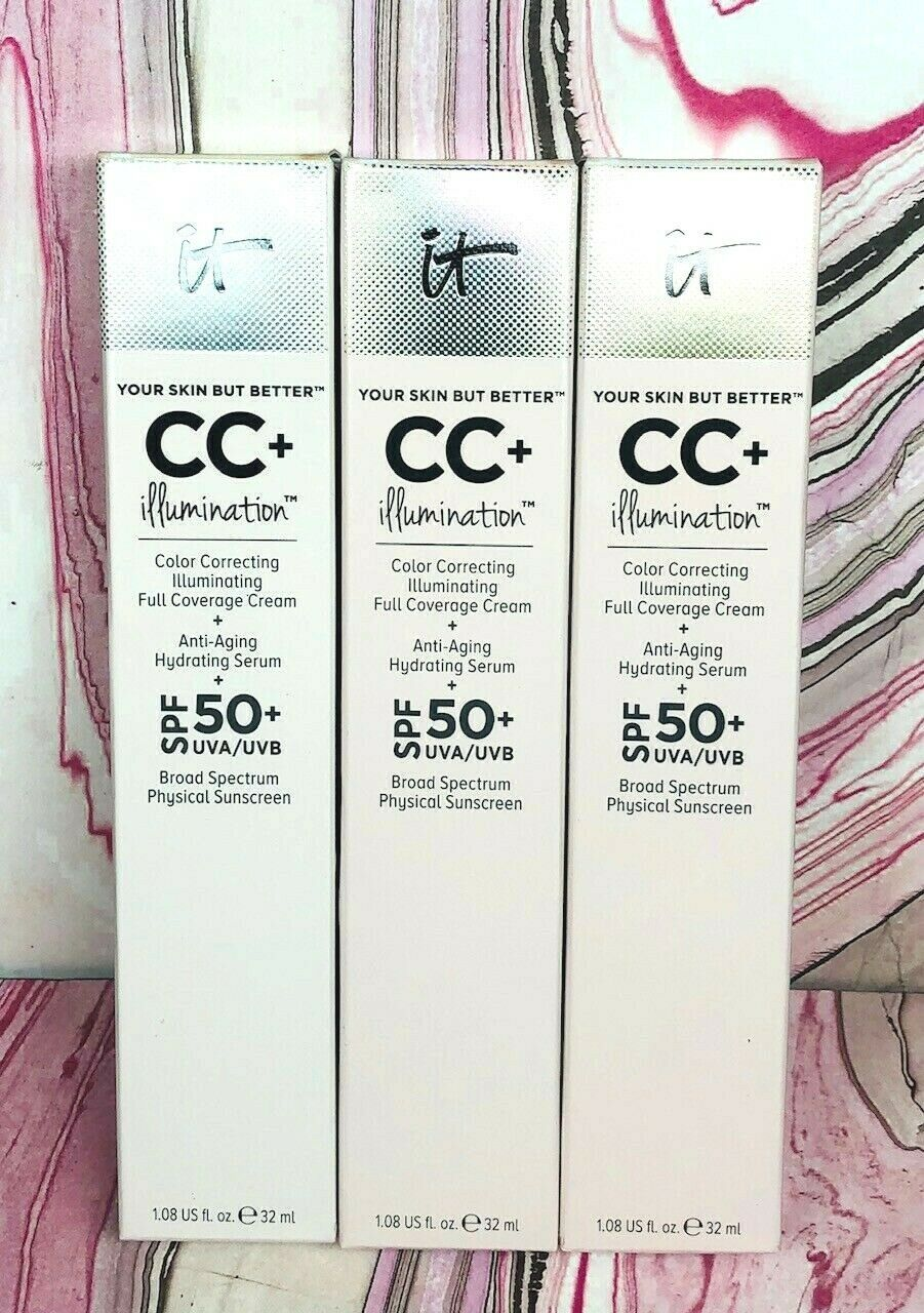 Primary image for IT Cosmetics Illumination CC+ Anti Aging Foundation 32 mL (CHOOSE SHADE) 01/21+