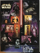 2007 Star Wars 30th Anniversary 15 of USPS 41 cent Postage Stamps Full S... - $9.99