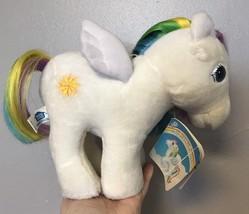 1984 Hasbro Softies My Little Pony Plush Starshine Rainbow Toy W/ Tag - $34.84