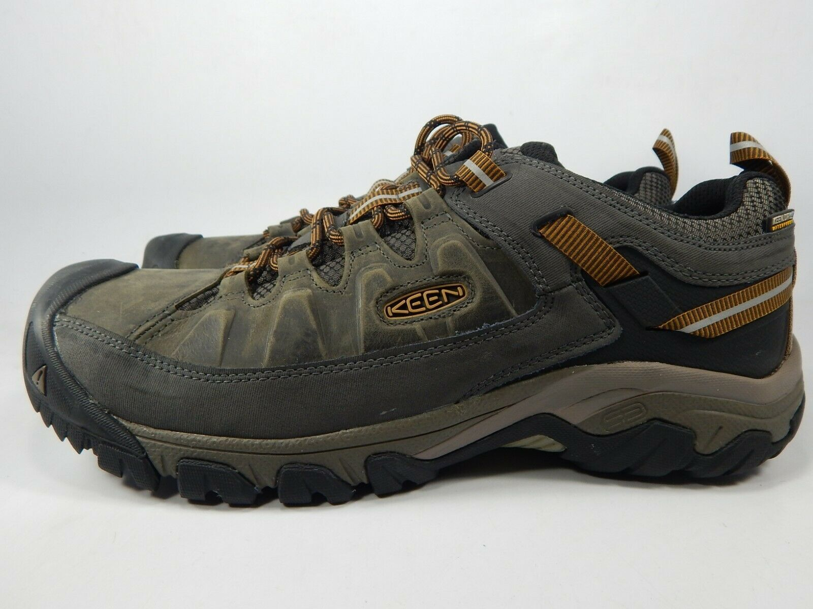 Keen Targhee III Low Top Size 13 M (D) EU 47 Men's WP Trail Hiking Shoes 1017784