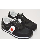 Polo Ralph Lauren Sport Slaton Black Flag Japan Sneakers, Running Shoes - $45.49