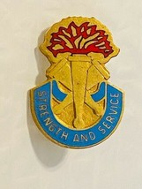 US Military Insignia Pin - Strength and Service - $10.00