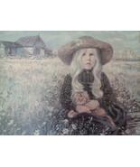 Vintage Lee Dubin Rebecca Picture Framed & Matted Transart Industries 32x26 - $500.00