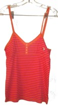 Sz M - NWT Piper & Blue Orange & Pink Striped Cami Top - $18.99