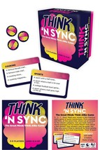 Gamewright Think 'N Sync - The Great Minds Think Alike Game Card Game - $12.86