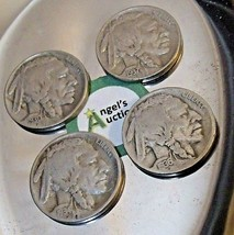 Buffalo Nickel 1930 P, 1934 D, 1936 P and 1937 P AA20BN-CN6099 image 2