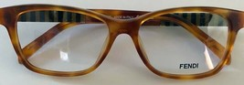 Fendi New Authentic Eyeglass Frame 1000 (218) Light Havana 51 15 135 wit... - $148.67