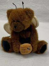 Boyds The Head Bean Collection U Be Happy Teddy Bear In Bee Costume Plush - $14.52