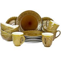 Elamas Cleo 16 Piece Stoneware Dinnerware Set - $123.71